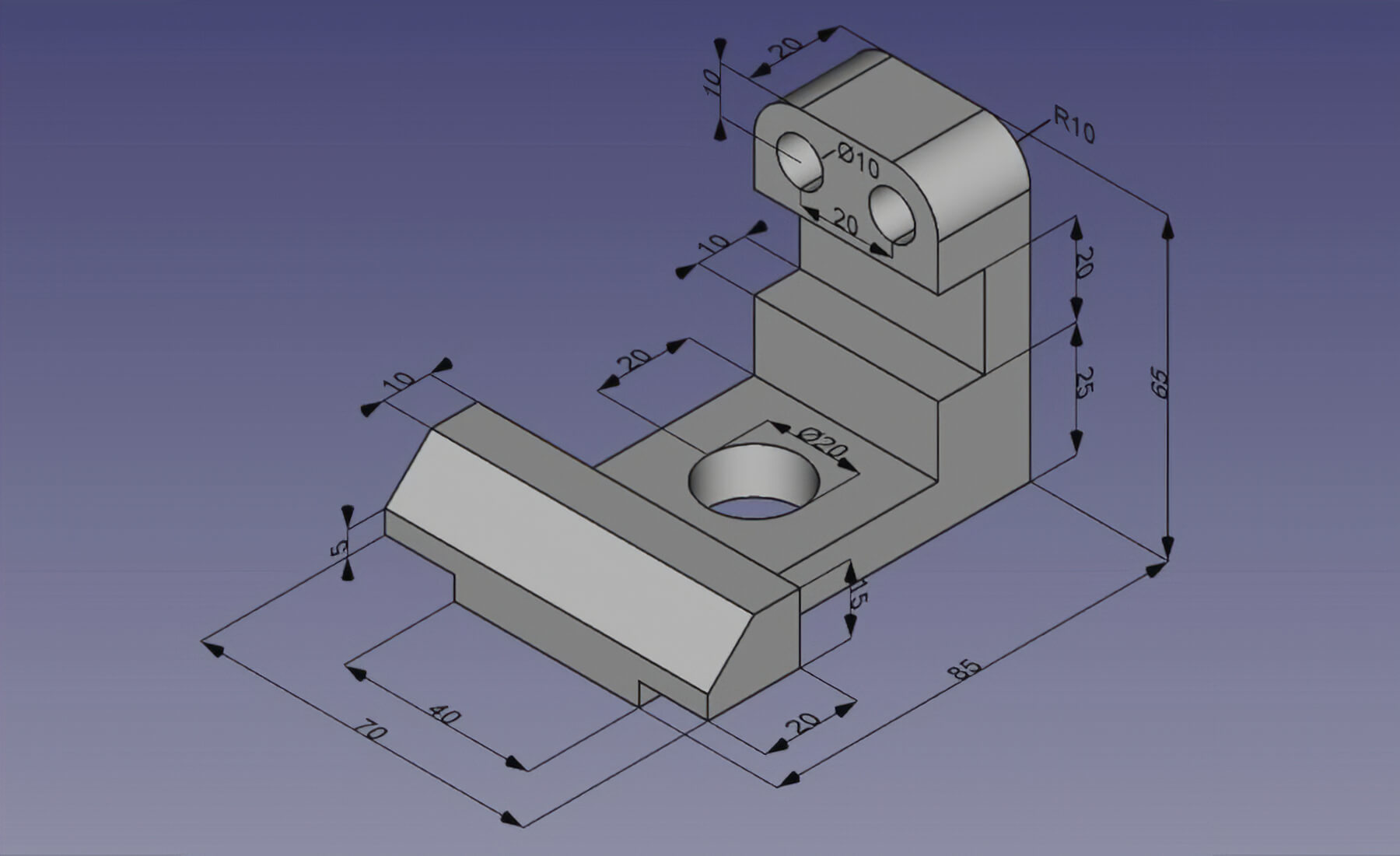 FreeCAD: Your own 3D parametric modeler